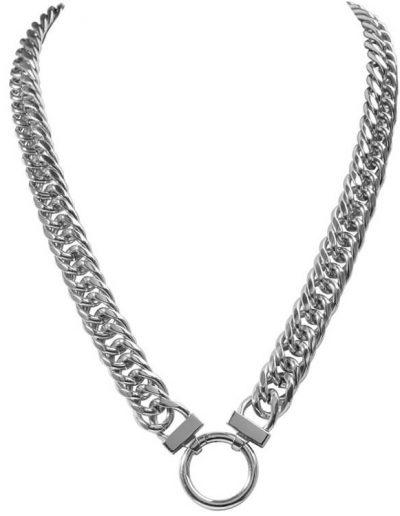 Nikki Lissoni Chunky Silver Necklace